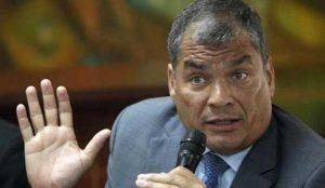 Rafael Correa, Interpol,